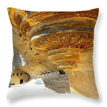 Prehistoric Throw Pillow by Lauren Leigh Hunter Fine Art Photography