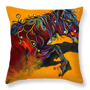 Prelude To A Dance Throw Pillow