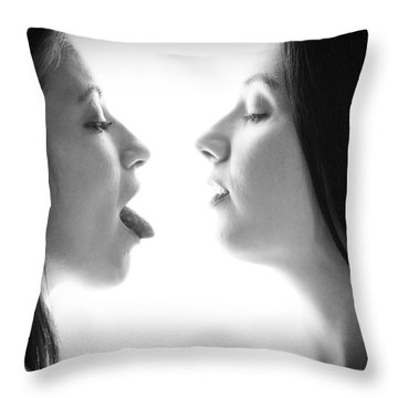 Prelude To A Kiss 2 Throw Pillow