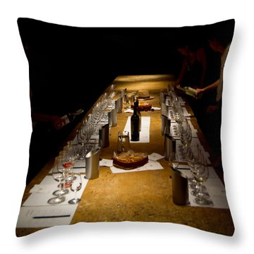 Prepare Throw Pillow