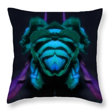 Throw Pillow featuring the photograph Prepared by WB Johnston