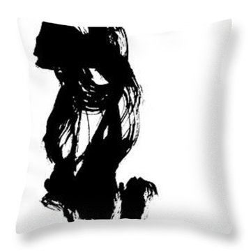 Present Moment/eternal Moment Throw Pillow