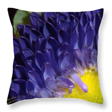 Present Moments - Signed Throw Pillow