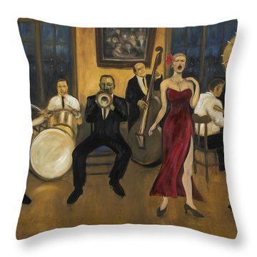 Preservation Hall Throw Pillow