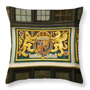 Preserving The Monarchy Throw Pillow