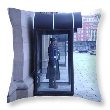 Presidential Guard Throw Pillow