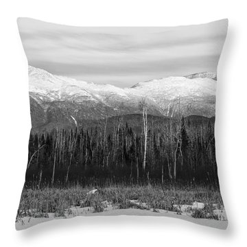 Presidential Range - Pondicherry Wildlife Refuge New Hampshire Throw Pillow
