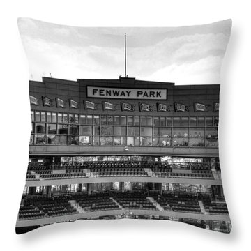 Press Box Throw Pillow