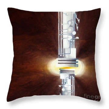 Pressure Sensitive - Always There 2 Throw Pillow