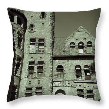 Preston Castle Tower Throw Pillow