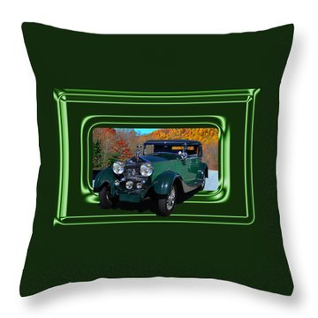 Throw Pillow featuring the photograph Pretentious by Larry Bishop