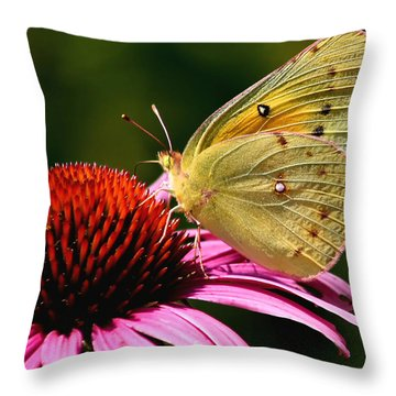 Pretty As A Butterfly Throw Pillow