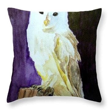 Pretty At Night Throw Pillow