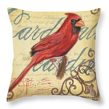 Pretty Bird 1 Throw Pillow