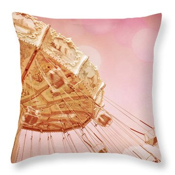 Carnival - Pretty In Pink Throw Pillow