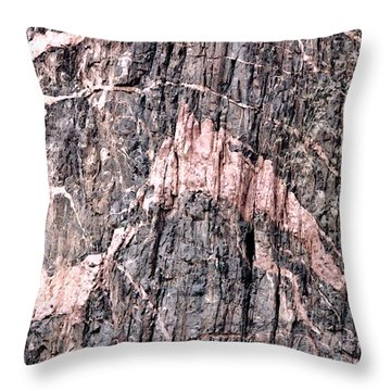 Throw Pillow featuring the photograph Pretty In Pink by Mary Bedy
