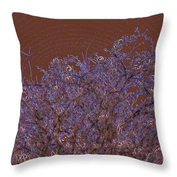 Pretty Tree Throw Pillow by Carol Lynch