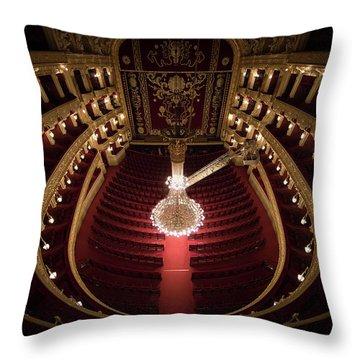 Theatres Throw Pillows
