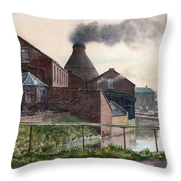 Price Kensington Watercolor Throw Pillow