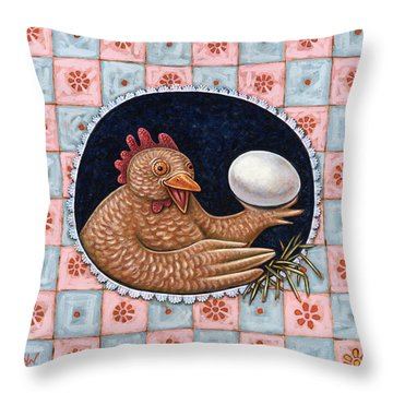 Pride And Joy Throw Pillow by Holly Wood