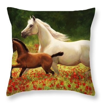 Pride And Joy Throw Pillow