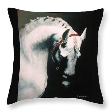 Pride Throw Pillow by Jean Yves Crispo