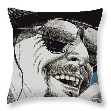 Pride Of Detroit Throw Pillow