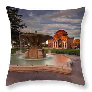 Pride Of The City Throw Pillow