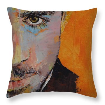 Priest Throw Pillow by Michael Creese