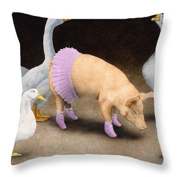 Prima Ballerina Throw Pillows