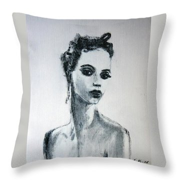 Primadonna Throw Pillow by Jarmo Korhonen aka Jarko