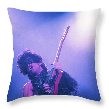 Prince Throw Pillow by David Plastik
