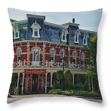 Prince Of Wales Hotel 9000 Throw Pillow