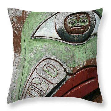 Prince Rupert Totem Throw Pillow
