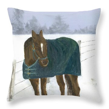Prince Seasons Greetings Throw Pillow