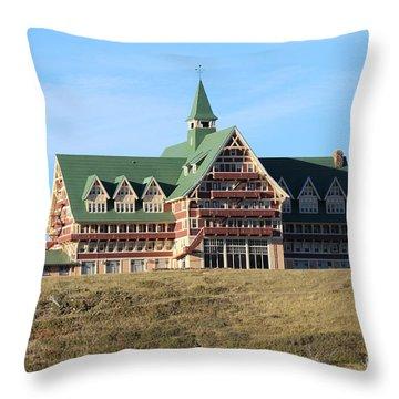 Prince William Hotel Throw Pillow