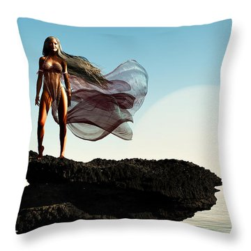 Princess Of Mars... Throw Pillow