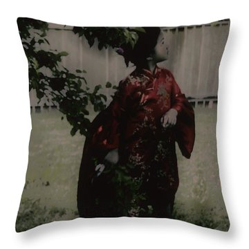 Throw Pillow featuring the photograph Princess Of Tranquility  by Jessica Shelton