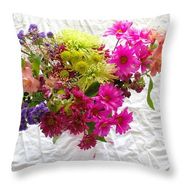 Princess On Assignment Throw Pillow by Angela J Wright