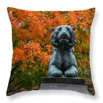 Princeton Panther Throw Pillow