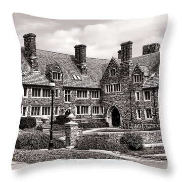 Princeton University Throw Pillow by Olivier Le Queinec