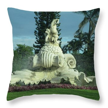 Throw Pillow featuring the photograph Princeville II by Alohi Fujimoto