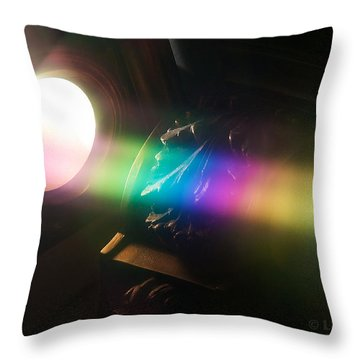 Prism Of Light Throw Pillow