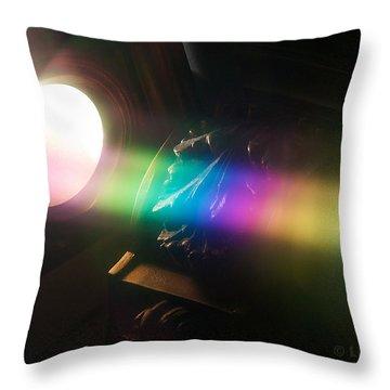 Prism Of Light Throw Pillow