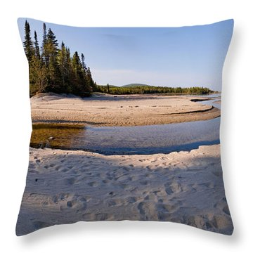 Prisoners Cove   Throw Pillow