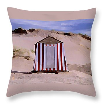 Privacy Throw Pillow by John  Malone