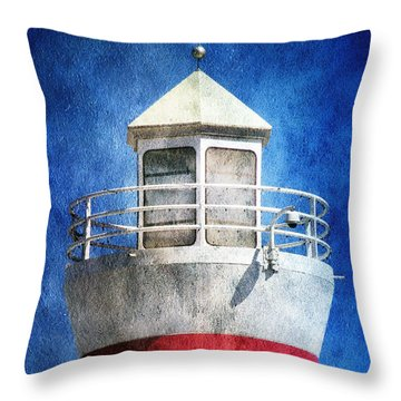 Private Lighthouse Throw Pillow