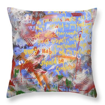 Feeling's Of Affection Throw Pillow