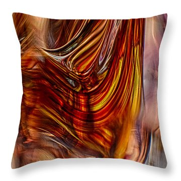 Profile Throw Pillow by Omaste Witkowski