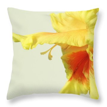 Profiling Glady Throw Pillow